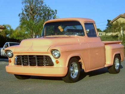 1956 chevy 1 2 ton 1500 chevrolet chevy trucks for sale old trucks antique trucks. Black Bedroom Furniture Sets. Home Design Ideas