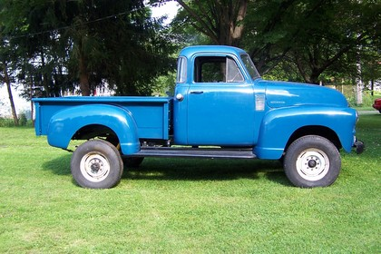 1953 Chevy 3600 Chevrolet Chevy Trucks For Sale Old