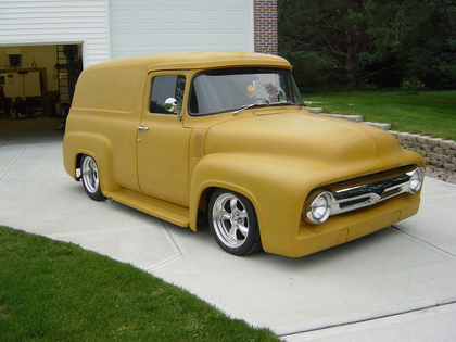 1956 Ford Panel Ford Trucks For Sale Old Trucks