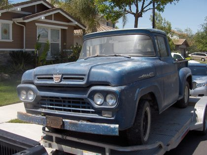 1960 ford f100 ford trucks for sale old trucks antique trucks vintage trucks for sale. Black Bedroom Furniture Sets. Home Design Ideas