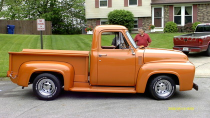 1955 Ford F100 Restoration For Sale.html | Autos Weblog