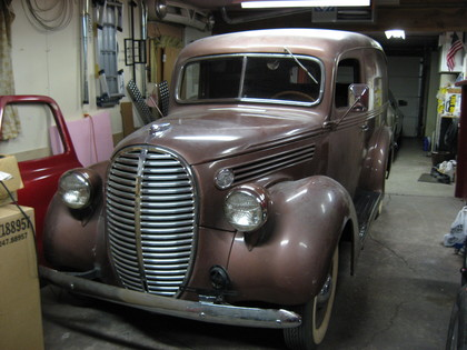 1939 Ford Panel Ford Trucks For Sale Old Trucks