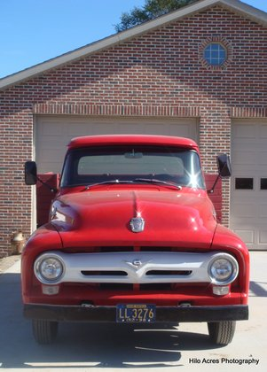 1956 Ford F350 1 Ton Flatbed W Sides Ford Trucks For