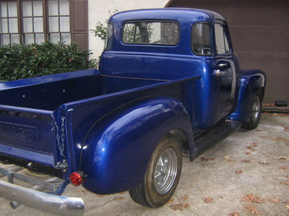 1952 chevy 5 window stepside chevrolet chevy trucks for 1952 chevy truck 5 window