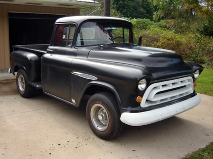 1957 chevy 3100 chevrolet chevy trucks for sale old trucks antique trucks vintage. Black Bedroom Furniture Sets. Home Design Ideas