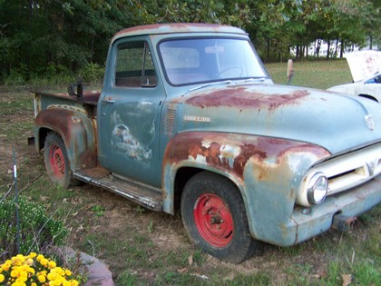 1953 Ford F100 F1 Ford Trucks For Sale Old Trucks
