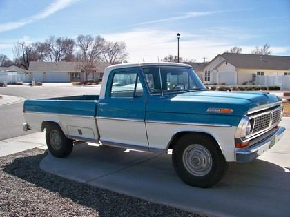 1970 Ford F250 Sport Custom Camper Special - Ford Trucks for Sale