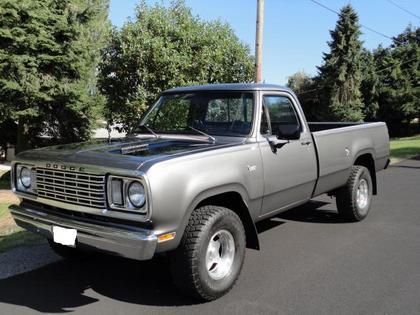 1977 dodge custom 200 dodge trucks for sale old trucks antique trucks vintage trucks for. Black Bedroom Furniture Sets. Home Design Ideas
