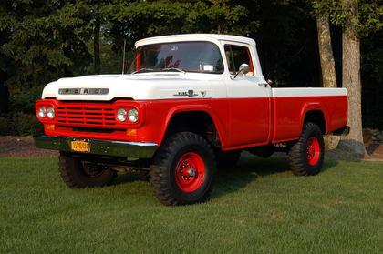 1959 Ford F100 4x4 Ford Trucks For Sale Old Trucks