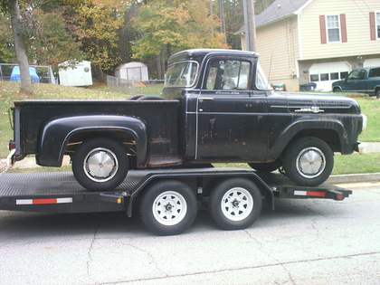 Ford on 1959 Ford F100 Custom Cab Big Window   Ford Trucks For Sale   Old