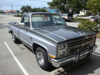 1987 chevy c k 1500 2wd pickup chevrolet chevy trucks. Black Bedroom Furniture Sets. Home Design Ideas