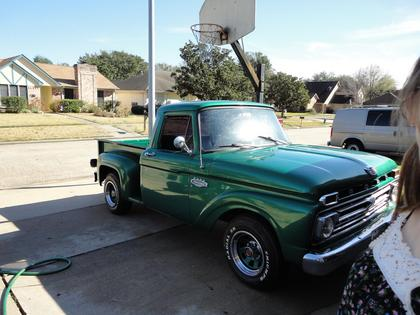 1966 Ford F100 Step Side - Ford Trucks for Sale | Old ...  1966 Ford F100 ...