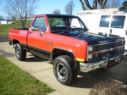 1984 Chevy Scottsdale K10 4x4 Chevrolet Chevy Trucks