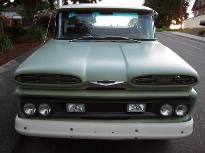 1961 chevy apache pickup truck chevrolet chevy trucks for sale
