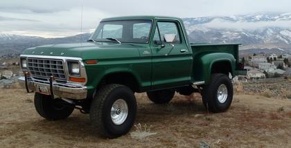 1979 Ford F150 Ranger 4x4 - Ford Trucks for Sale | Old Trucks, Antique