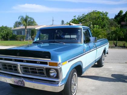 1977 Ford F150 Ranger Xlt Ford Trucks For Sale Old