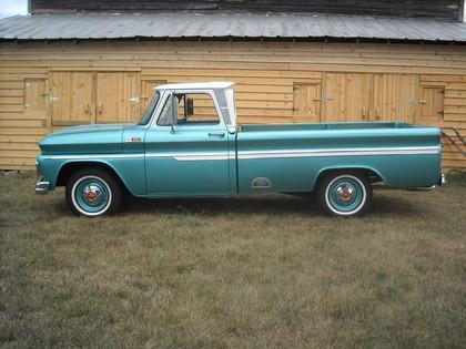 1965 chevy c 10 pickup truck chevrolet chevy trucks for sale old trucks antique trucks. Black Bedroom Furniture Sets. Home Design Ideas