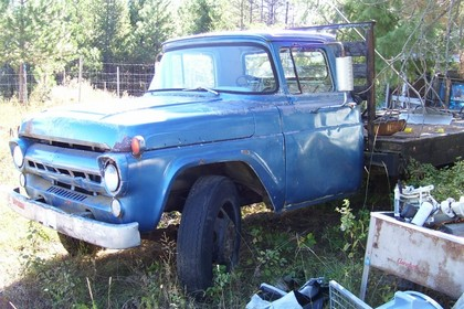 1957 Ford F600 Ford Trucks For Sale Old Trucks