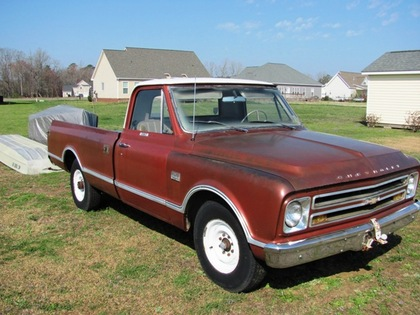1967 chevy cst chevrolet chevy trucks for sale old trucks antique trucks vintage trucks. Black Bedroom Furniture Sets. Home Design Ideas