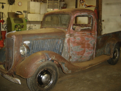 1936 Ford 1 2 Ton Short Box Ford Trucks For Sale Old