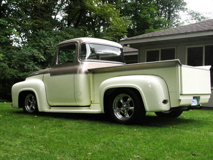 Antique Big Trucks For Sale http://www.classictruckcentral.com/ads/1956-ford-f100-big-back-window-1/