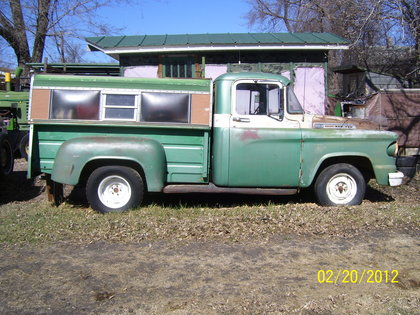 1958 dodge d 100 dodge trucks for sale old trucks antique trucks vintage trucks for sale. Black Bedroom Furniture Sets. Home Design Ideas