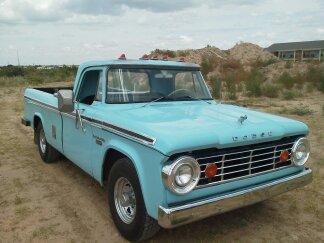 1967 Dodge Dodge Sweptline Camper Special Edition Dodge