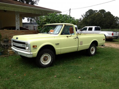 1970 chevy c 20 3 4 ton chevrolet chevy trucks for sale old trucks antique trucks. Black Bedroom Furniture Sets. Home Design Ideas