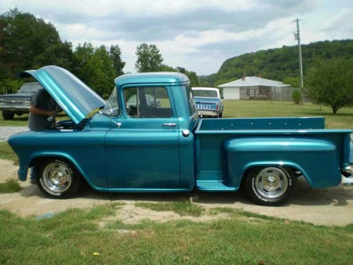 1955 chevy 2nd series chevrolet chevy trucks for sale old trucks antique trucks vintage. Black Bedroom Furniture Sets. Home Design Ideas