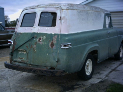 Dodge Truck Parts >> 1957 Ford F-100 panel - Ford Trucks for Sale | Old Trucks, Antique Trucks & Vintage Trucks For ...