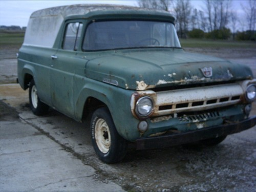 Old Ford Panels : Ford f panel trucks for sale old