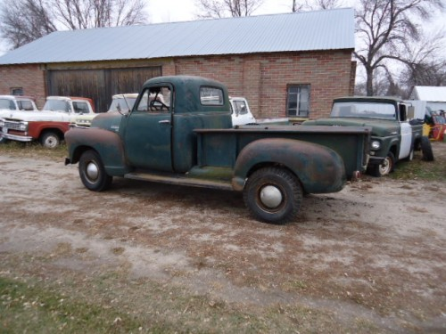 1951 chevy truck part: