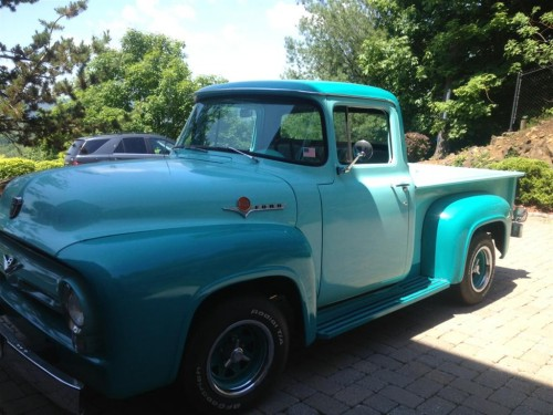 1956 ford f 100 ford trucks for sale old trucks antique trucks vintage trucks for sale. Black Bedroom Furniture Sets. Home Design Ideas