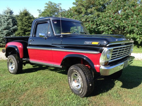 1968 ford f100 stepside ford trucks for sale old trucks antique trucks vintage trucks for. Black Bedroom Furniture Sets. Home Design Ideas