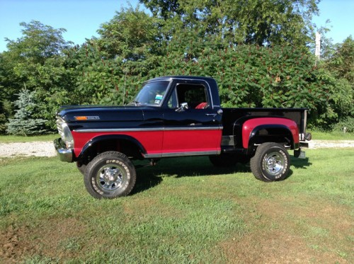 1968 Ford F100 stepside - Ford Trucks for Sale | Old ...  1968 Ford F100 ...