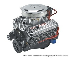 Chevy Performance 350 Ho Deluxe Crate Engine Performance
