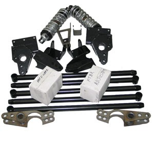 48 72 Ford Trucks Fatbar 4 Link Rear Suspension Kit