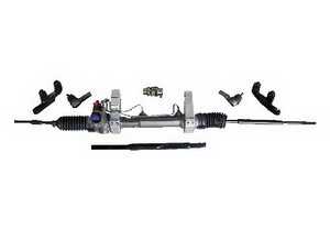 1955 1959 Chevy Gmc Rack N Pinion Power Steering Kit For Straight Axle on central heating and air parts