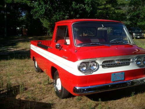 1961 Chevy Chevy Corvair Model 95 Rampside pickup