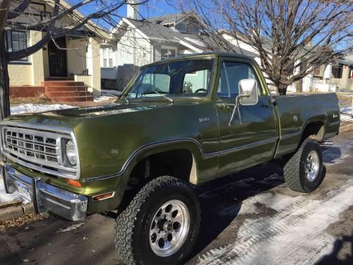 1974 Dodge Power Wagon W100 4x4 Dodge Trucks For Sale