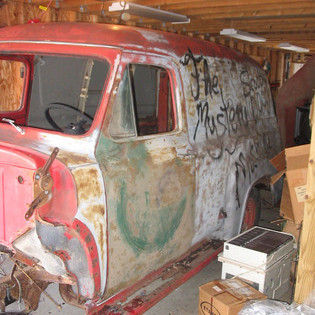 1955 Dodge Truck For Sale >> 1955 Ford F100 Panel Truck - Ford Trucks for Sale | Old Trucks, Antique Trucks & Vintage Trucks ...