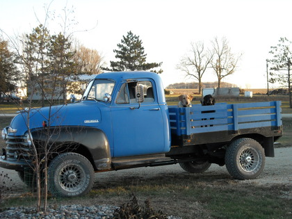 1952 chevy 1 ton flat bed chevrolet chevy trucks for sale old trucks antique trucks. Black Bedroom Furniture Sets. Home Design Ideas