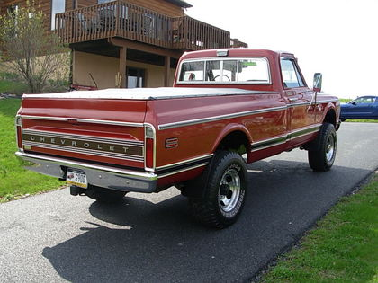 1968 Chevy K20 Chevrolet Chevy Trucks For Sale Old