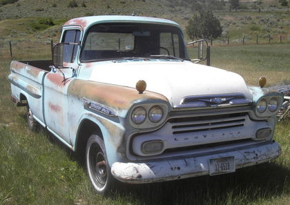 1959 Chevy Apache 32 Chevrolet Chevy Trucks For Sale Old