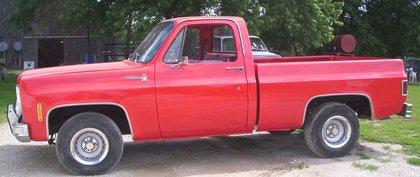 1976 chevy scottsdale short bed chevrolet chevy trucks for sale old trucks antique trucks. Black Bedroom Furniture Sets. Home Design Ideas