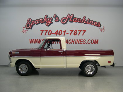 1968 Ford F100 Ranger Ford Trucks For Sale Old Trucks