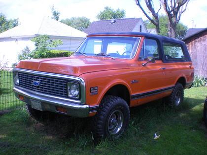 1972 Chevy K5 Blazer 4×4