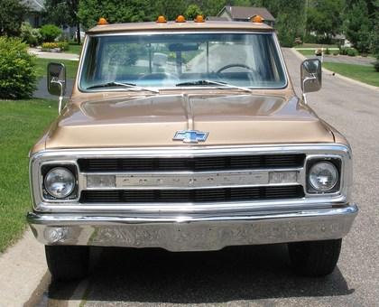 1969 Chevy C/20 Custom Camper - Chevrolet - Chevy Trucks ...