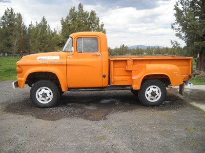 1958 Dodge W100 on gmc dump trucks sale