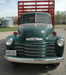1951 chevy farm grain truck with 22k orig miles chevrolet chevy trucks for sale old. Black Bedroom Furniture Sets. Home Design Ideas
